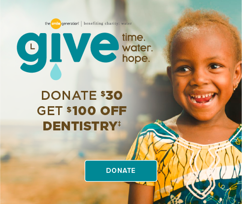 Donate $30, Get $100 Off Dentistry - Fairfax Modern Dentistry
